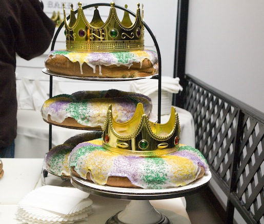Astor Bake Shop's King Cake and Sweets Table